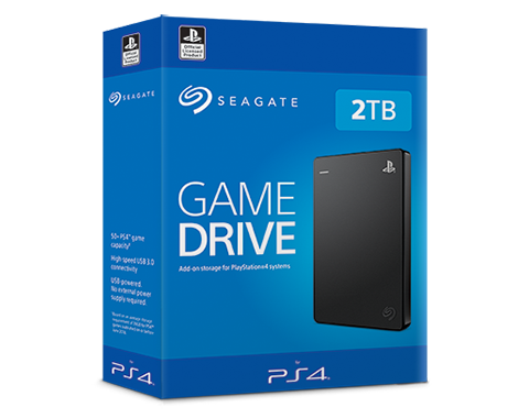 Seagate Game Drive STGD2000200 2 TB Portable Hard Drive PS4