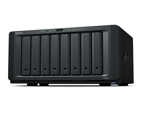 Synology DiskStation DS1819+ 8 x Total Bays SAN/NAS Storage System